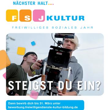 jetzt bewerben fr ein fsj kultur in berlin und brandenburg - Fsj Kultur Bewerbung