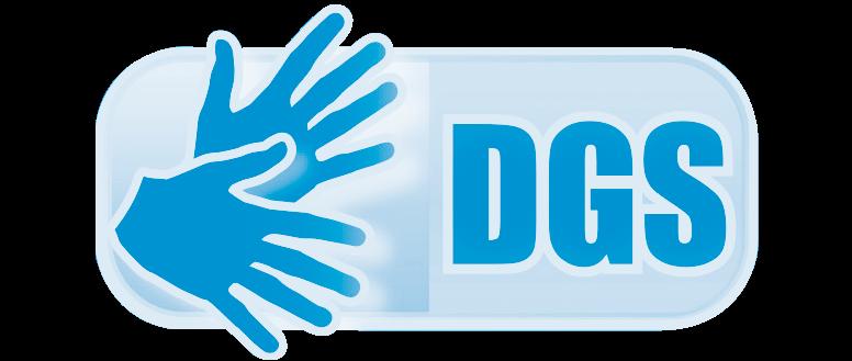 DGS-Logo mit Link zum Video in Deutscher Gebärdensprache