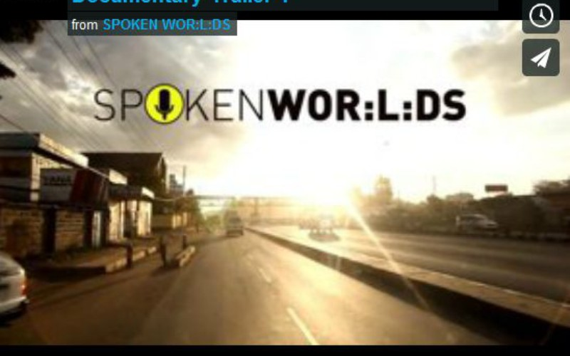 SPOKEN WOR:L:DS Berlin - Nairobi Trailer