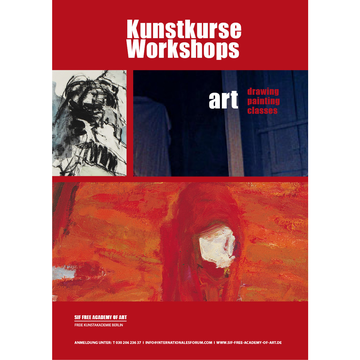 KUNSTWORKSHOP IN DER SIF FREE ACADEMY OF ART